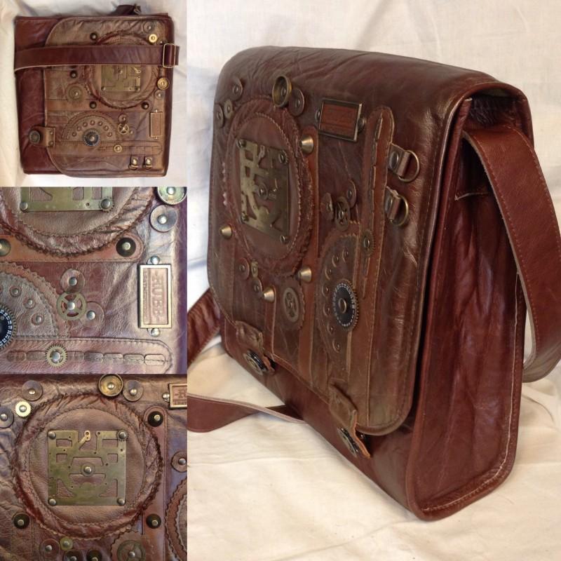 -RUBB- leatherworks tas Lizette