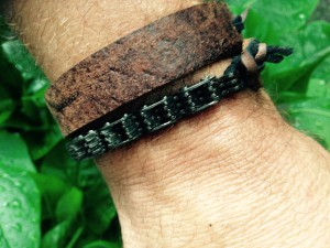 -RUBB- Leatherworks Bracelet Motorchain