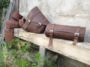 -RUBB- Leatherworks Motorbags Marcel