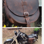 -RUBB-Leatherworks Motorbag Honda SuperMagna