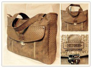 -RUBB- Leatherworks bag Lieke