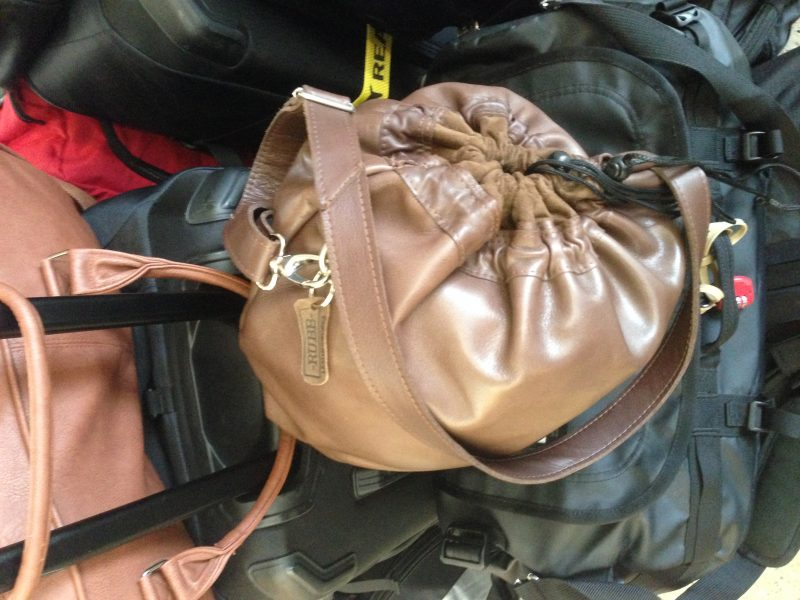-RUBB- Leatherworks Helmet bag