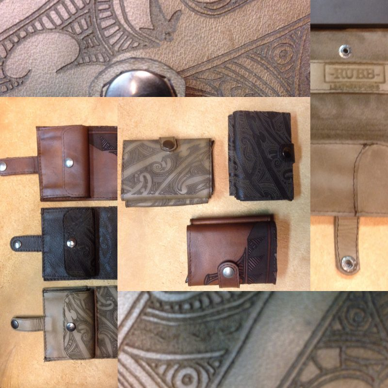-RUBB- Leatherworks Creditcardholder